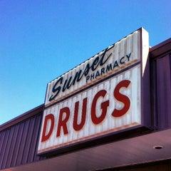 Photo taken at Sunset Pharmacy by Jen B. on 3/12/2013