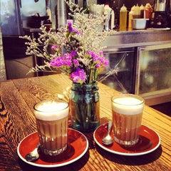 Photo taken at Ruby's Café by Paula I. on 11/18/2012