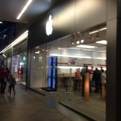 Photo taken at Apple Store, Century City by Randy B. on 12/9/2012