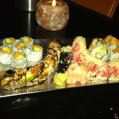 Photo taken at Coast Sushi Bar by Molly S. on 10/30/2012