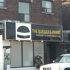 Photo taken at The Burger's Priest by Lisa R. on 4/18/2013