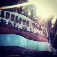 Photo taken at Adelita Bar by Manuelo on 4/9/2013