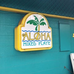 Photo taken at Aloha Mixed Plate by Robby W. on 6/11/2013