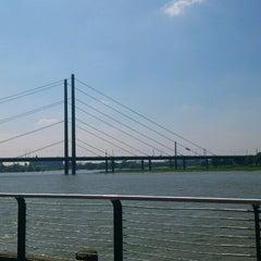 Photo taken at Rheinufer by Steffi S. on 5/19/2013