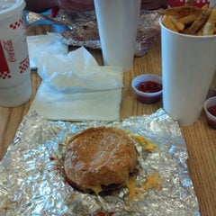 Photo taken at Five Guys by Shane aka The Geek on 9/25/2011