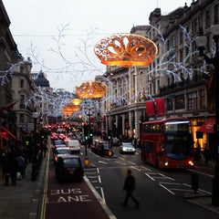 Photo taken at Oxford Street by Anastasia K. on 1/7/2013