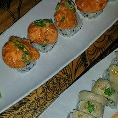 Photo taken at Blowfish Restaurant & Sake Bar by Marie R. on 12/19/2014