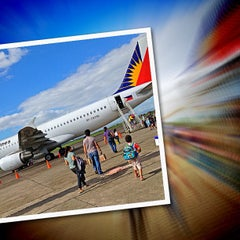 Photo taken at Daniel Z. Romualdez Airport (TAC) by Ador H. on 4/3/2013