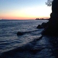 Photo taken at Isla Vista Beach by Лилу Б. on 7/21/2014