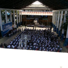 Photo taken at SMA Negeri 1 Manado by Baban S. on 7/15/2014