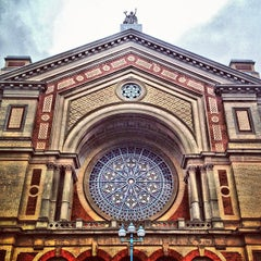 Photo taken at Alexandra Palace by Gus N. on 11/20/2012