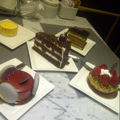 Photo taken at Sam's Patisserie.Boulangerie.Desserts by Fransisca T. on 5/24/2013