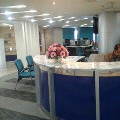Photo taken at Tan Sri Dr. Abdullah Sanusi Digital Libray, Open University Malaysia (OUM) by Shahril E. on 10/10/2012