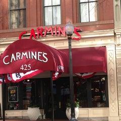Photo taken at Carmine's by Jeffrey B. on 1/20/2013