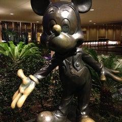 Photo taken at Disneyland Hotel by Micah E. on 1/24/2013