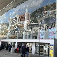 """Photo taken at Aeroporto Internazionale di Napoli Capodichino """"Ugo Niutta"""" (NAP) by GOLD!E on 6/1/2013"""