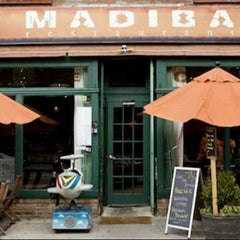 Photo taken at Madiba Restaurant by Buddha B. on 3/29/2013