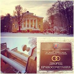 Photo taken at Дворец бракосочетания №3 by Art Z. on 12/10/2012