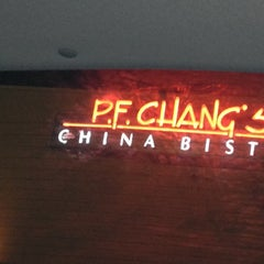 Photo taken at P.F. Chang's by Trisha S. on 10/21/2012