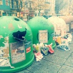 Photo taken at Helmholtzplatz by Lara L. on 11/11/2012