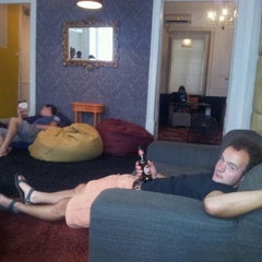 Photo taken at Travelers House Hostel by Kris D. on 9/14/2012