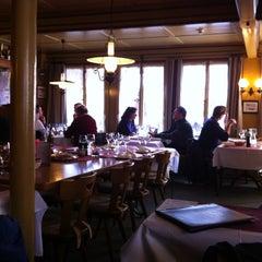 Photo taken at Restaurant Hotel Rössli by Tatiana K. on 12/30/2012
