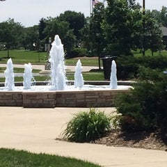 Photo taken at Greenfield Public Library by Thomas H. on 6/26/2014