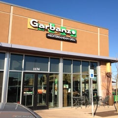 Photo taken at Garbanzo Mediterranean Grill by Saad A. on 11/9/2012