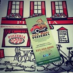 Photo taken at Cruzer Pizza by Tony B. on 2/14/2015