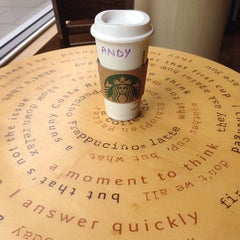 Photo taken at Starbucks by Andy B. on 10/29/2013