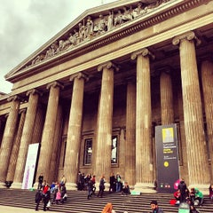 Photo taken at British Museum by Andy B. on 7/21/2013