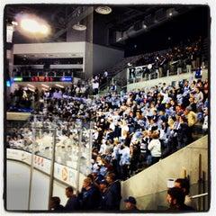 Photo taken at Pegula Ice Arena by Thomas L. on 11/9/2013