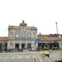 Photo taken at Estação Ferroviária de Viana do Castelo by Amanda C. on 3/5/2013