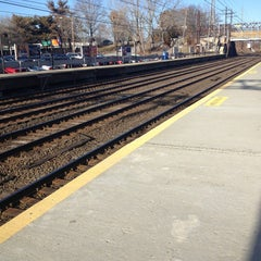 Photo taken at Metro North - Noroton Heights Train Station by Abby S. on 3/28/2013