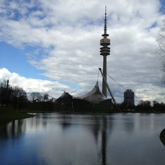 Photo taken at Olympiapark by J.R. R. on 4/13/2013