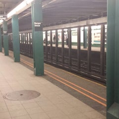 Photo taken at MTA Subway - Bergen St (F/G) by Christian T. on 3/1/2014