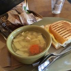 Photo taken at Saint Louis Bread Co. by Heidi P. on 3/27/2014