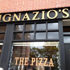 Photo taken at Ignazio's Pizza by Justin M. on 10/27/2012