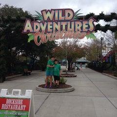 Photo taken at Wild Adventures Theme Park by Cristie B. on 12/22/2013