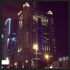 Photo taken at Fairmont Dubai by Onaiza S. on 12/12/2012