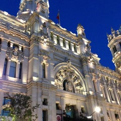 Photo taken at Palacio de Cibeles by Nikolay D. on 7/13/2013