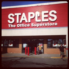 Photo taken at Staples by Mike S. on 5/16/2013