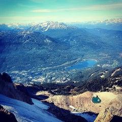 Photo taken at Whistler Mtn. Peak by Matthew M. on 9/27/2012