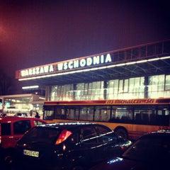 Photo taken at Warszawa Wschodnia by Олег С. on 2/23/2013