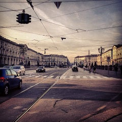 Photo taken at Piazza Vittorio Veneto by Francesco C. on 12/31/2012