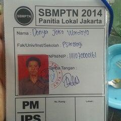 Photo taken at SMAN 28 Jakarta by Donya J. on 6/17/2014