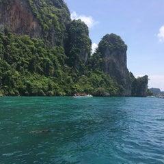 Photo taken at Phi Phi Island Village by Vinay on 5/20/2015