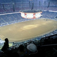 Photo taken at RODEOHOUSTON by Ramona F. on 3/2/2013