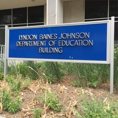 Photo taken at Lyndon Baines Johnson Department of Education Building by Tim L. on 5/29/2015