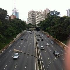 Photo taken at Avenida Vinte e Três de Maio by Claudio C. on 3/29/2013